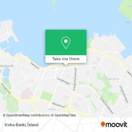 Kvika Banki map