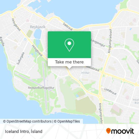 Iceland Intro map