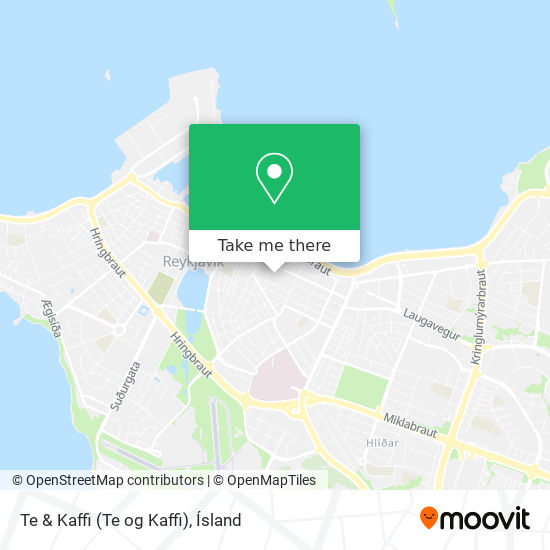 Te & Kaffi (Te og Kaffi) map