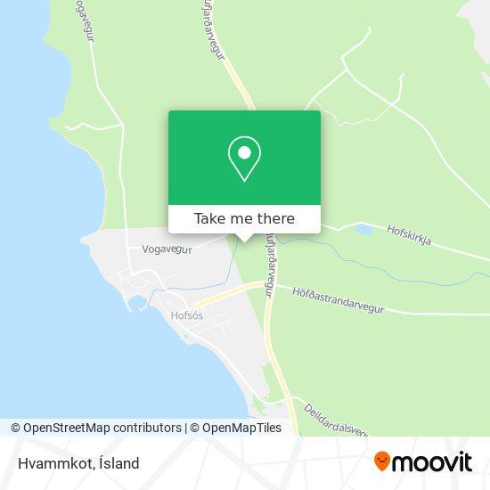 Hvammkot map