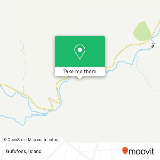 Gufufoss map