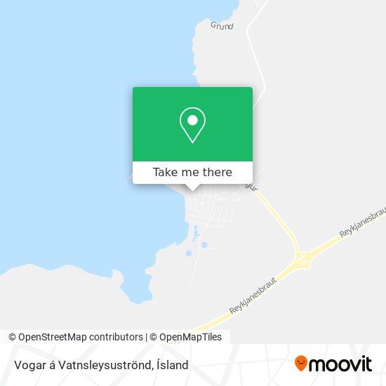 Vogar á Vatnsleysuströnd map