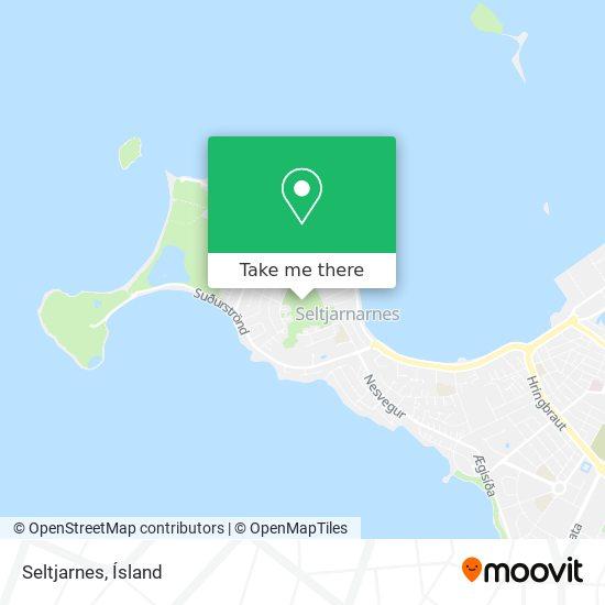 Seltjarnes map