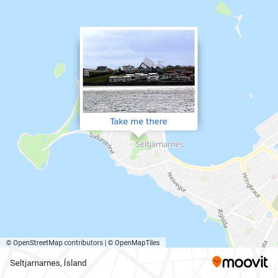 Seltjarnarnes map