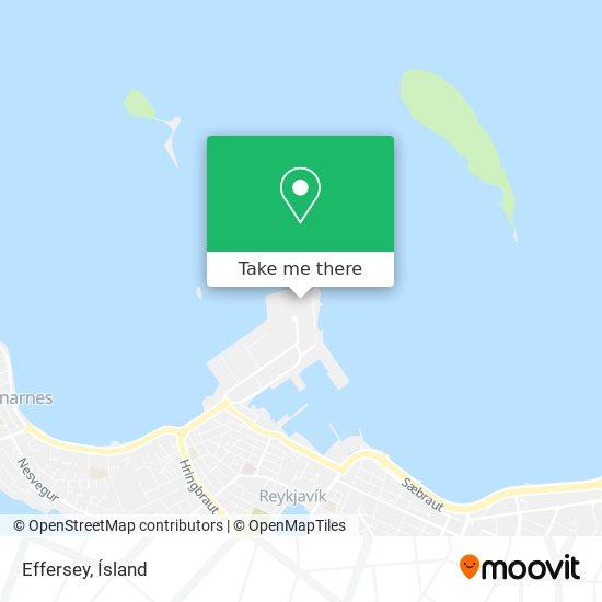 Effersey map