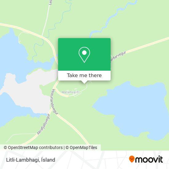 Litli-Lambhagi map