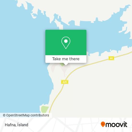 Hafna map