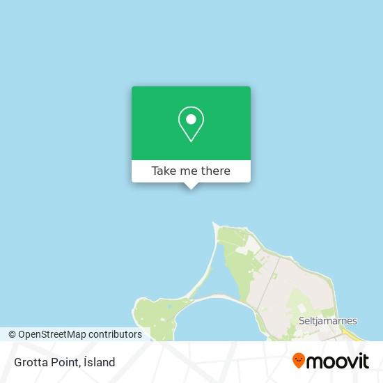 Grotta Point map