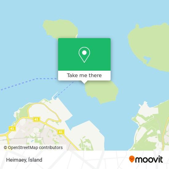 Heimaey map
