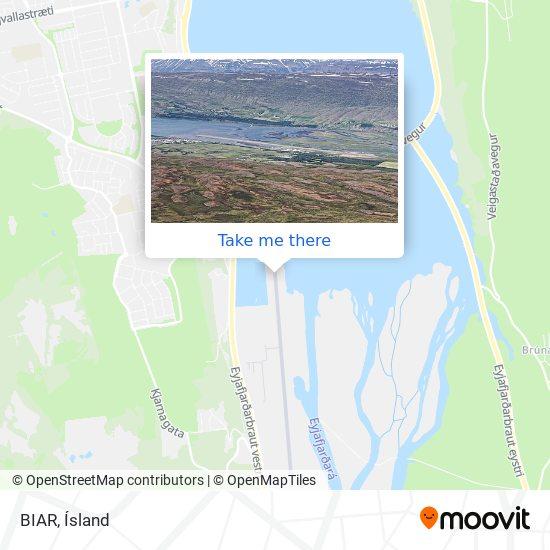 BIAR map