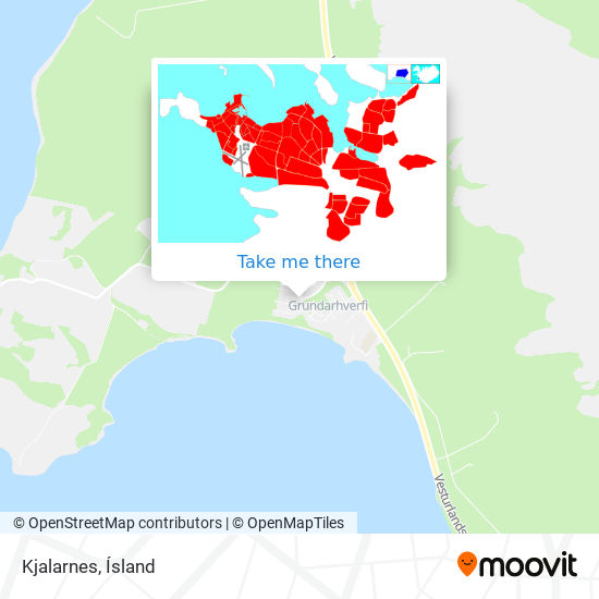 Kjalarnes map