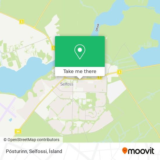 Pósturinn, Selfossi map