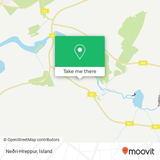 Neðri-Hreppur map