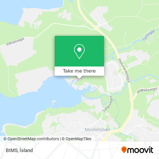 BIMS map