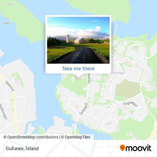 Gufunes map