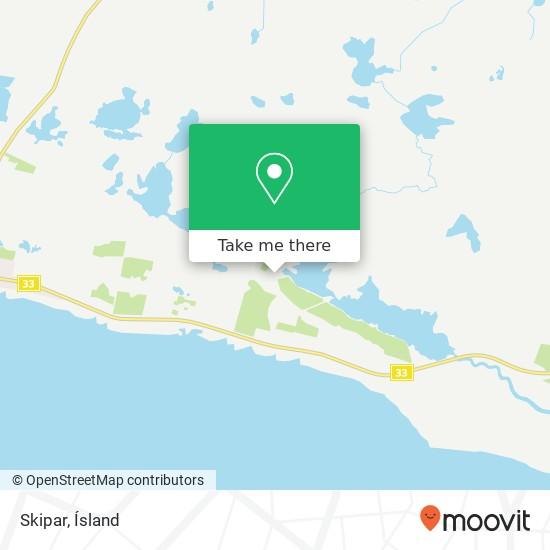 Skipar map