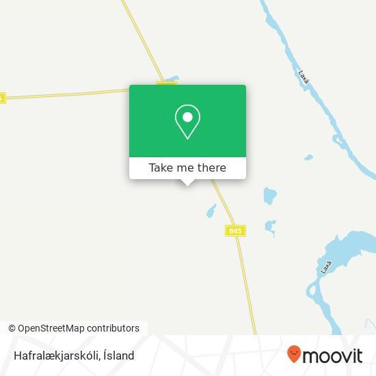 Hafralækjarskóli map
