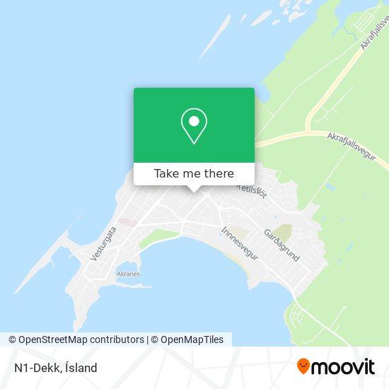 Mapa N1-Dekk