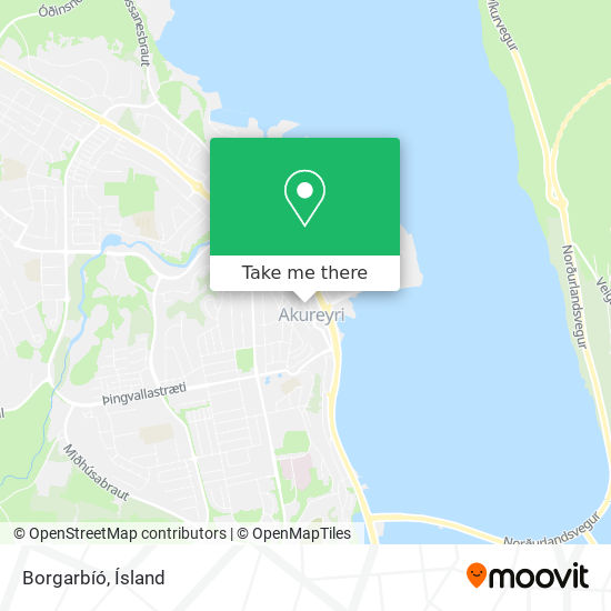 Borgarbíó map