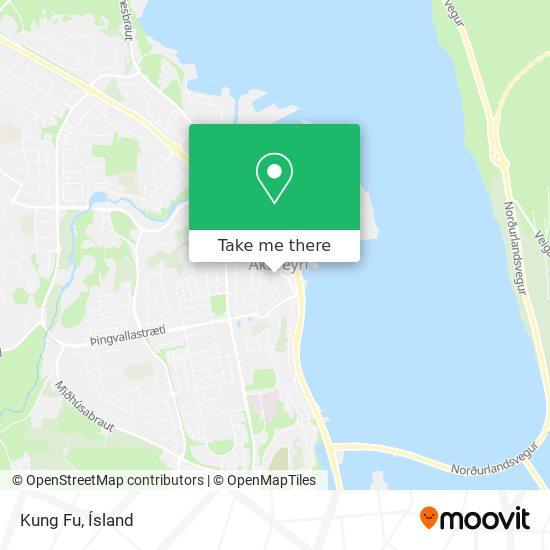Kung Fu map