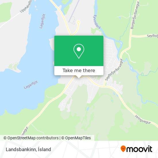 Landsbankinn map