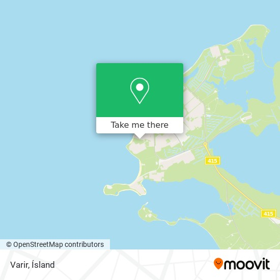 Varir map