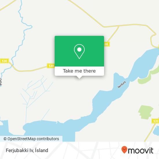 Ferjubakki Iv map
