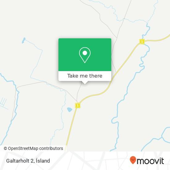 Galtarholt 2 map