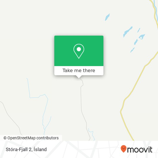 Stóra-Fjall 2 map
