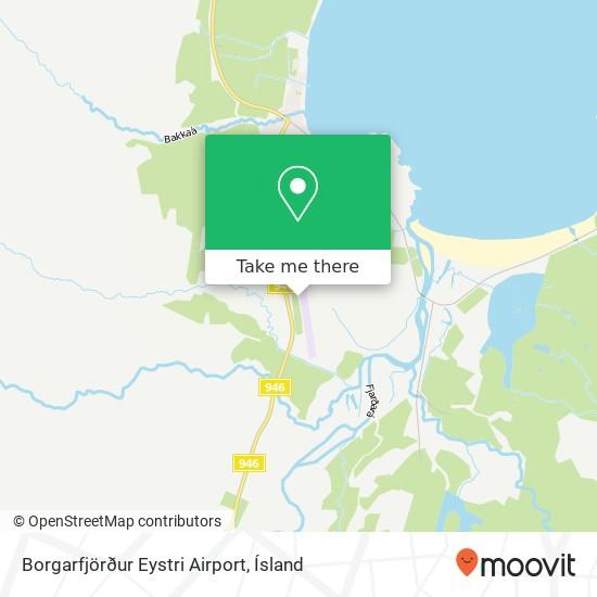 Borgarfjörður Eystri Airport map