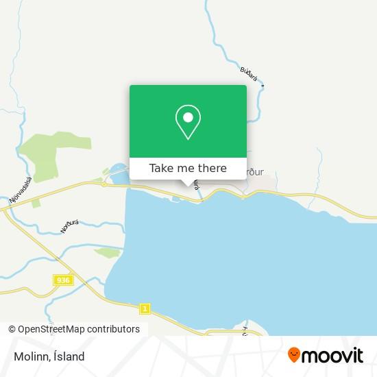 Molinn map