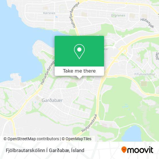 Mapa Fjölbrautarskólinn Í Garðabæ