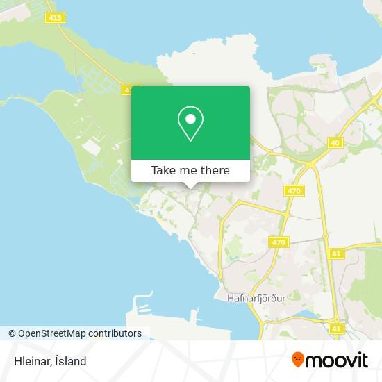 Hleinar map