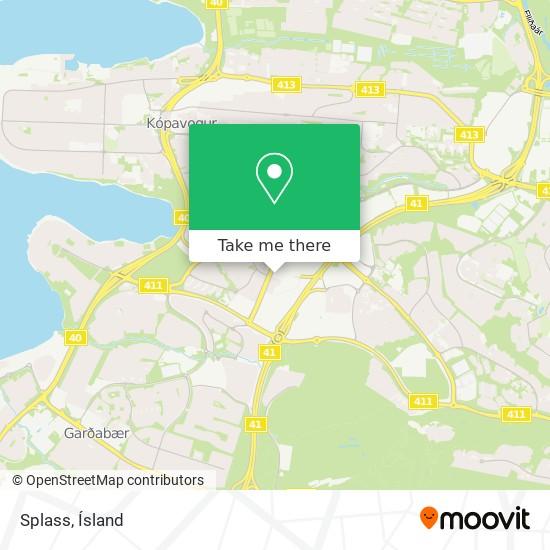 Splass map
