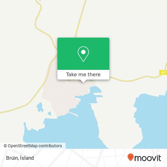 Brúin map
