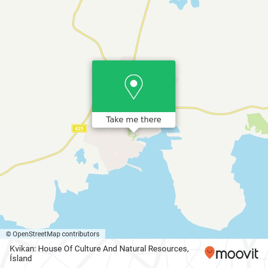 Kvikan: House Of Culture And Natural Resources map