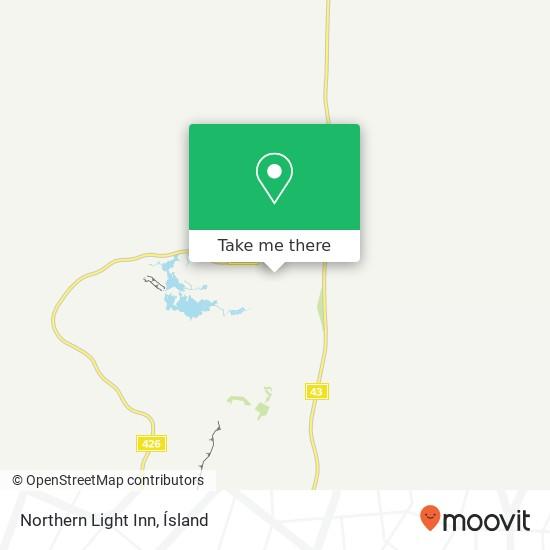 Northern Light Inn map