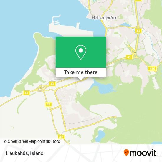 Haukahús map