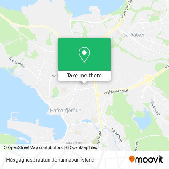 Húsgagnasprautun Jóhannesar map