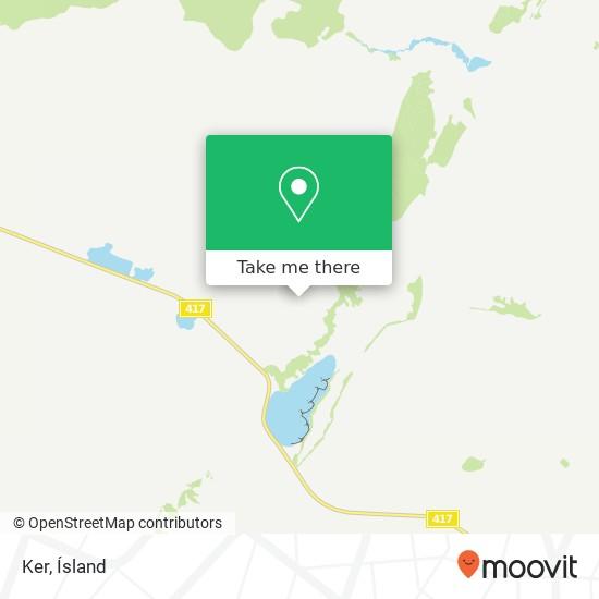 Mapa Ker