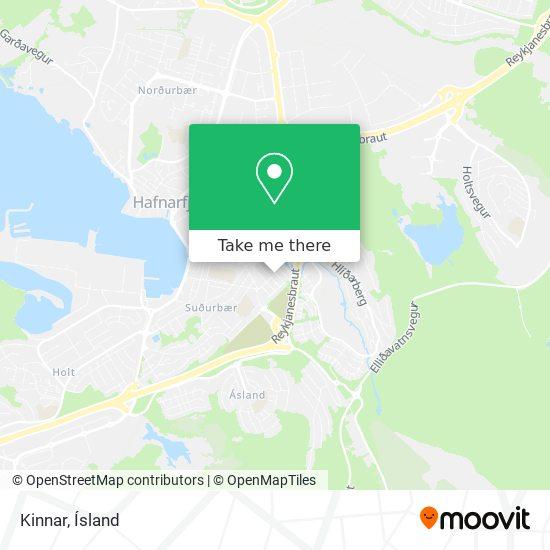 Kinnar map