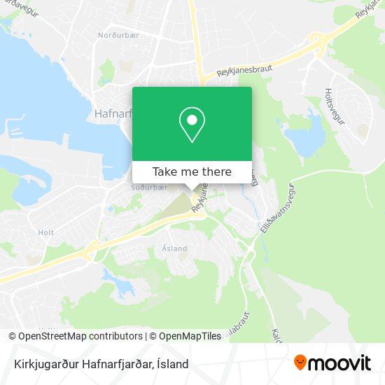 Kirkjugarður Hafnarfjarðar map