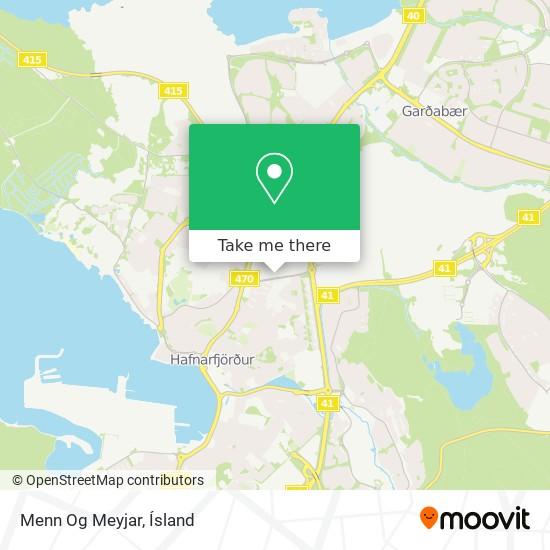 Menn Og Meyjar map