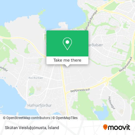 Skútan Veisluþjónusta map