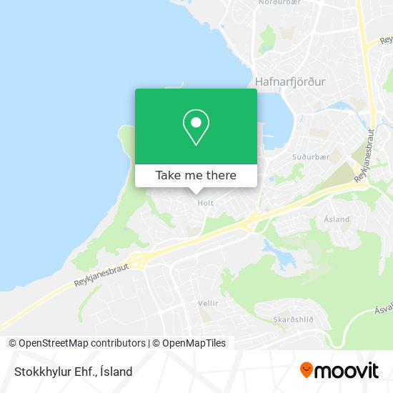 Stokkhylur Ehf. map