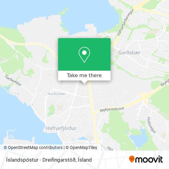 Íslandspóstur - Dreifingarstöð map