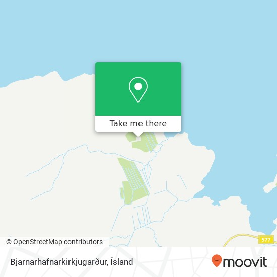 Bjarnarhafnarkirkjugarður map