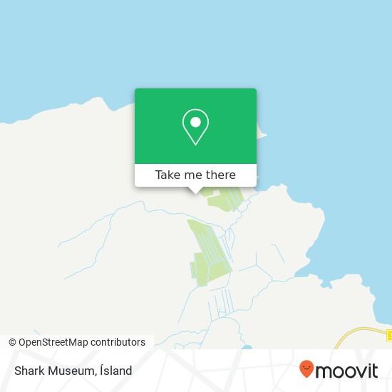 Shark Museum map