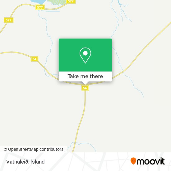 Vatnaleið map