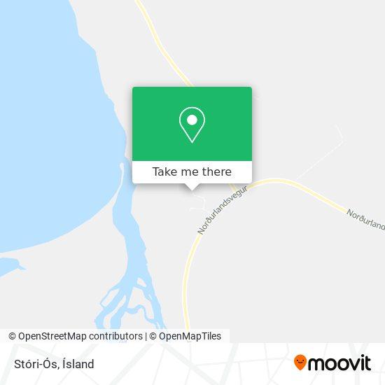 Stóri-Ós map